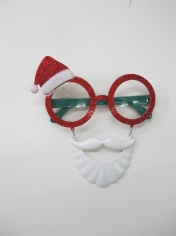 Santa Hat Sunglasses - Christmas Costume Accessories