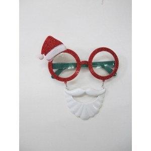 Santa Hat Sunglasses - Christmas Costume Accessories