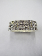 Fake Diamond Bracelets - Mardi Gras Accessories