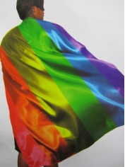 Rainbow Cape - Mardi Gras Costumes