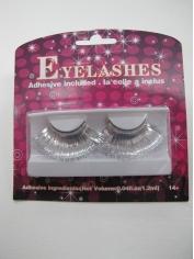 Silver Shining Eyelashes - Mardi Gras Costumes