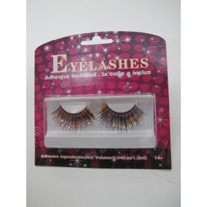 Rainbow Shining Eyelashes - Mardi Gras Costumes