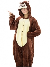 Squirrel Onesie - Adult Animal Onesies