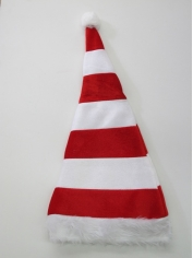 Red White Striped Santa Hat - Christmas Hats