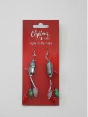 Christmas Light Up Earrings
