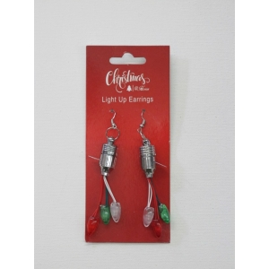 Christmas Light Up Earrings