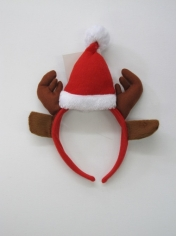 Santa Hat On Headband - Christmas Hats