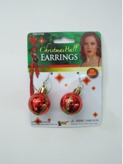 Christmas Ball Earrings