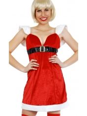 Sexy Mrs Claus Dress - Christmas Costumes