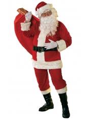 Santa Suit Velour - Mens Christmas Costume