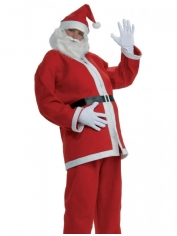 Santa Suit 5 Piece - Christmas Costumes