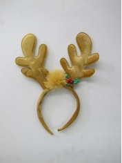 Light Brown Reindeer Headdress