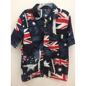 Australia Flag Shirt - Men's Costumes