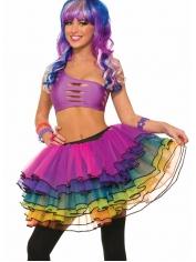 Deluxe Rainbow Tutu - Mardi Gras Costumes