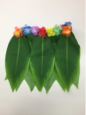 Short Green Leaves Skirt - Hawaiian Party Costumes