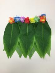 Short Green Leaves Skirt - Hawaiian Party Costumes