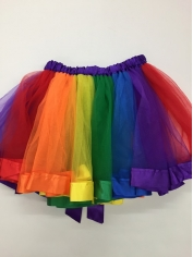 Rainbow Colored Tutu - Mardi Gras Costumes