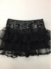 Black Studded Tutu - Mardi Gras Costumes