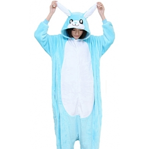 Blue Rabbit Onesies - Animal Onesies
