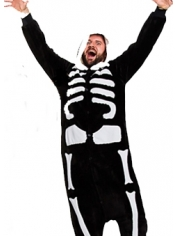 Skeleton Onesie - Adult Animal Onesies