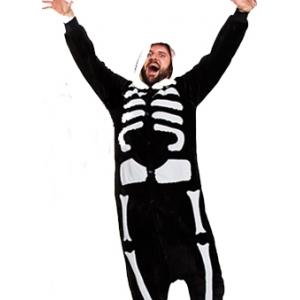 Skeleton Onesie - Adult Animal Onesies