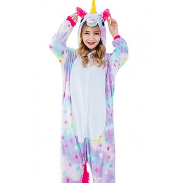 Star Unicorn Onesie - Adult Animal Onesies 98fdc7585811