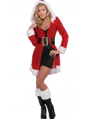 Sexy Santa Girl - Christmas Costume