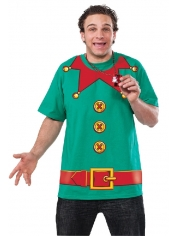 ELF T-shirt - Adult Christmas Costumes