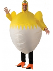Inflatable Chicken - Adult Costumes