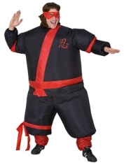 Inflatable Ninja - Adult Costumes