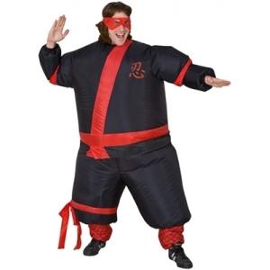 Inflatable Ninja - Adult Costumes