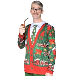 Ugly Christmas Cardigan - Adult Christmas Costumes
