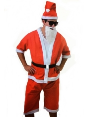 Santa Summer Suit - Christmas Costumes