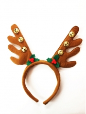 Brown Reindeer Headband - Christmas Costumes