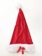 Santa Hat with Bells - Christmas Hats