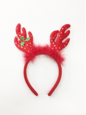 Reindeers Headband with Sequins