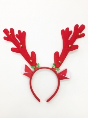 Red Reindeer - Christmas Headbands