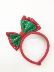 Christmas Bow - Christmas Headbands