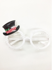 Snow Man - Christmas Costume Sunglasses