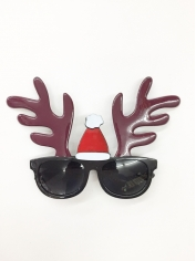 Reindeer Sunglasses - Novelty Glasses