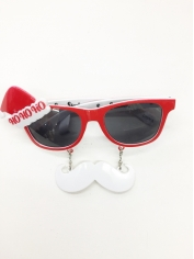 Mini Santa Hat Sunglasses - Christmas Costume Accessories