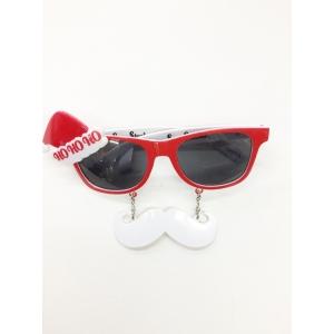 Mini Santa Hat Sunglasses - Christmas Costume Accessories