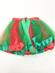 Red Green Tutu - Christmas Costumes