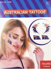 4 Piece Aussie Tattoos