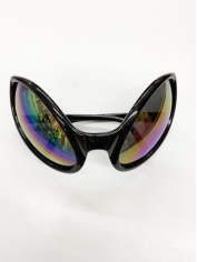 Black Alien Novelty Sunglasses