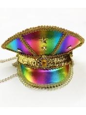 Rainbow Visor - Mardi Gras Hats