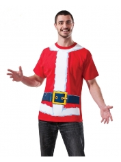 Santa Shirt - Adult Christmas Costumes
