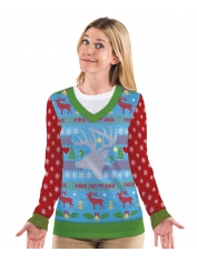 Check Out My Rack Long Sleeve Top - Adult Christmas Costumes