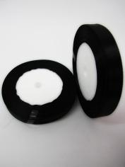 Small Size Black Ribbon