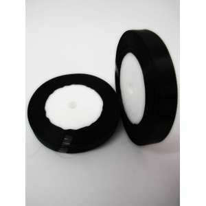 Small Size Black Ribbon